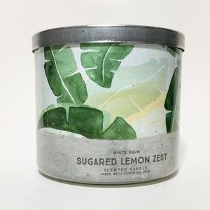 SUGARED LEMON ZEST 3 Wick Candle